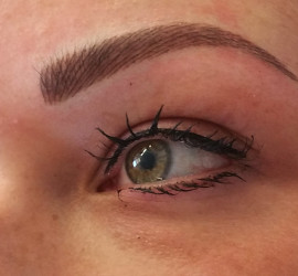 Wenkbrauw opvullen dmv permanent make-up