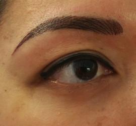 wenkbrauw hairstrokes permanente make-up