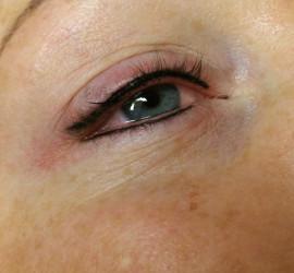 Eyeliner permanente make-up na